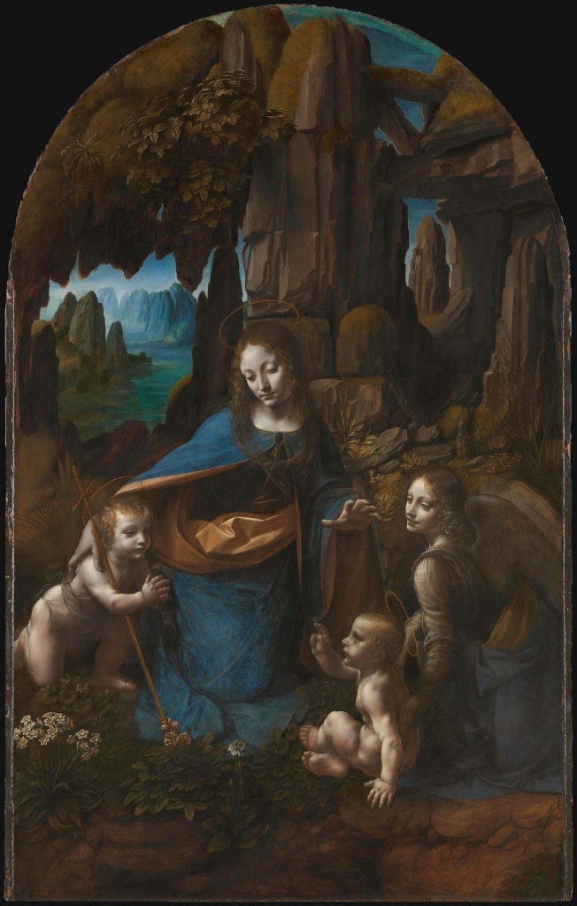 15 - Da Vinci - Virgin of the Rocks