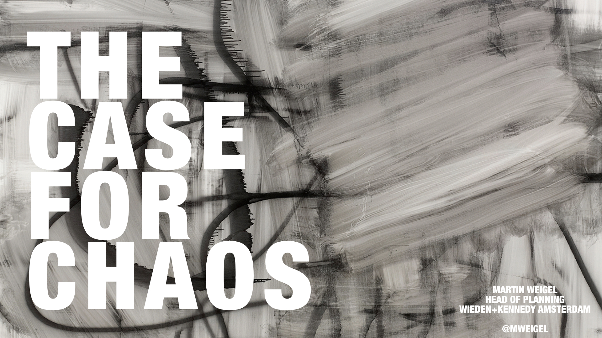 The Case For Chaos Revisited Canalside View